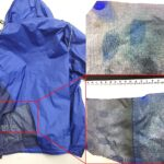 VMD Fingermark development on waterproof jacket