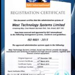 New ISO9001:2015 now Issued & Easter Opening Times