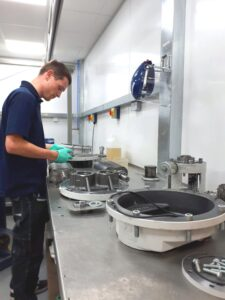 Service Engineers Fully Equipped     - West Technology Vacuum