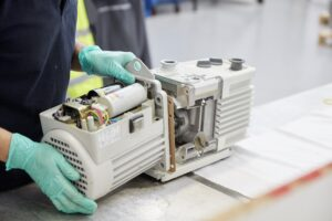 vacuum pump service uk, vacuum pump repair uk from west technology uk